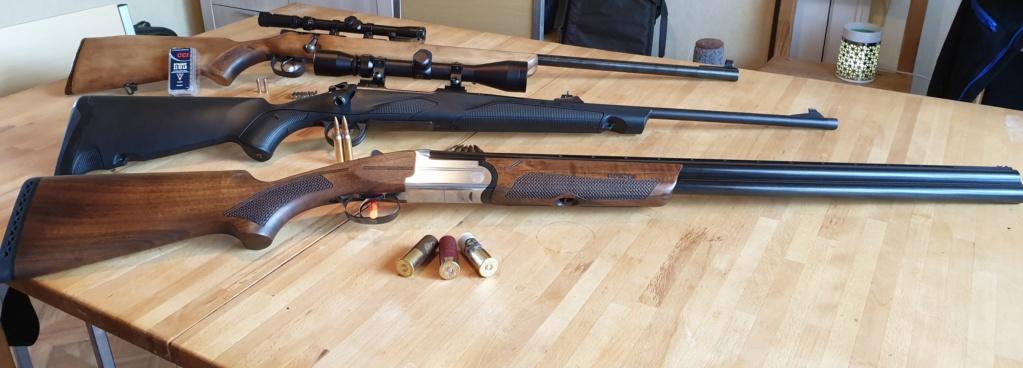 Mes armes de chasse 20190813