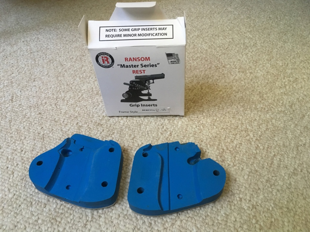 WTS: *SOLD* - Ransom Rest Inserts for Beretta 92 Img_1210