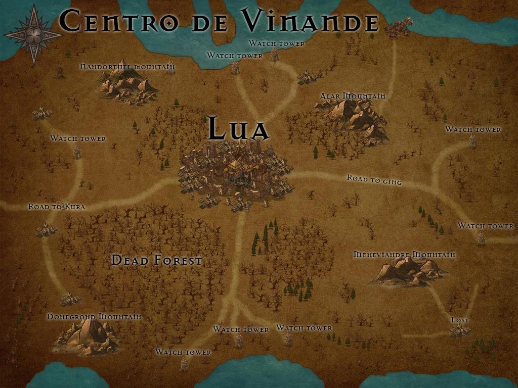 Mapas aproximados de cada região [!Cenários!] Centro10