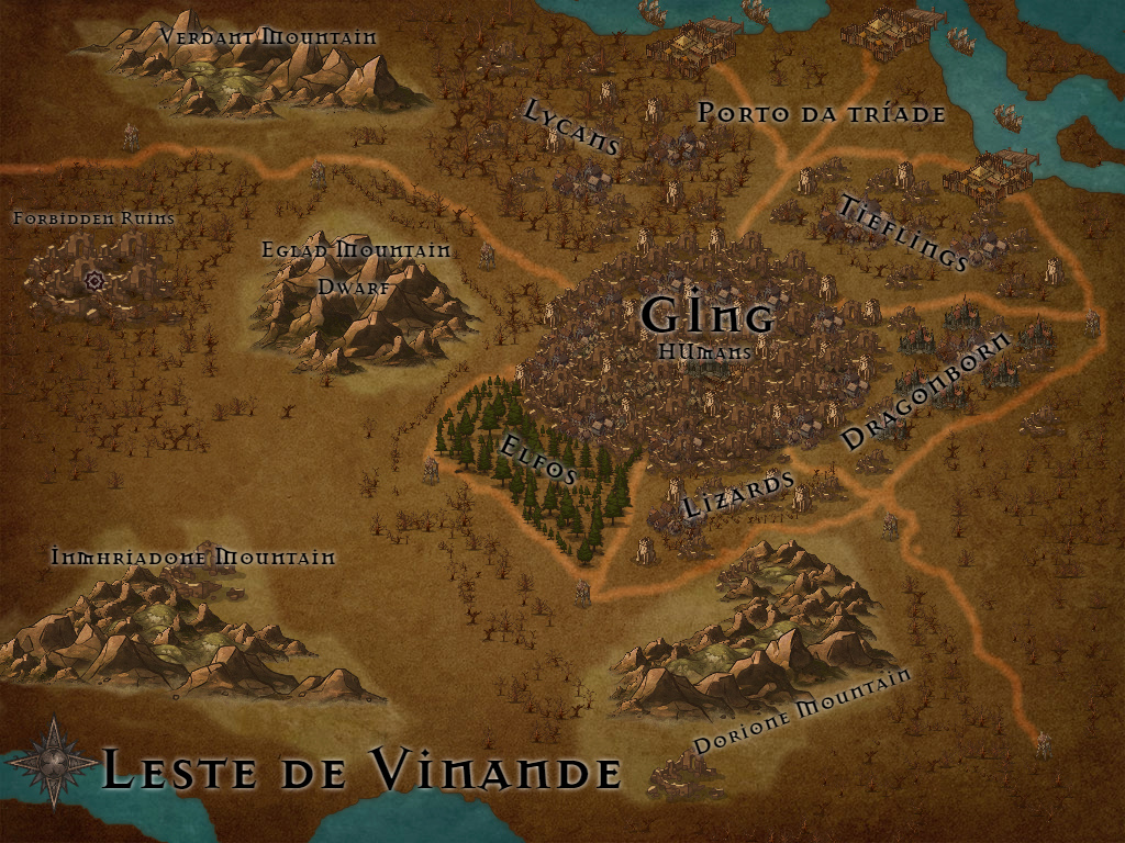 Mapas aproximados de cada região [!Cenários!] Leste_11