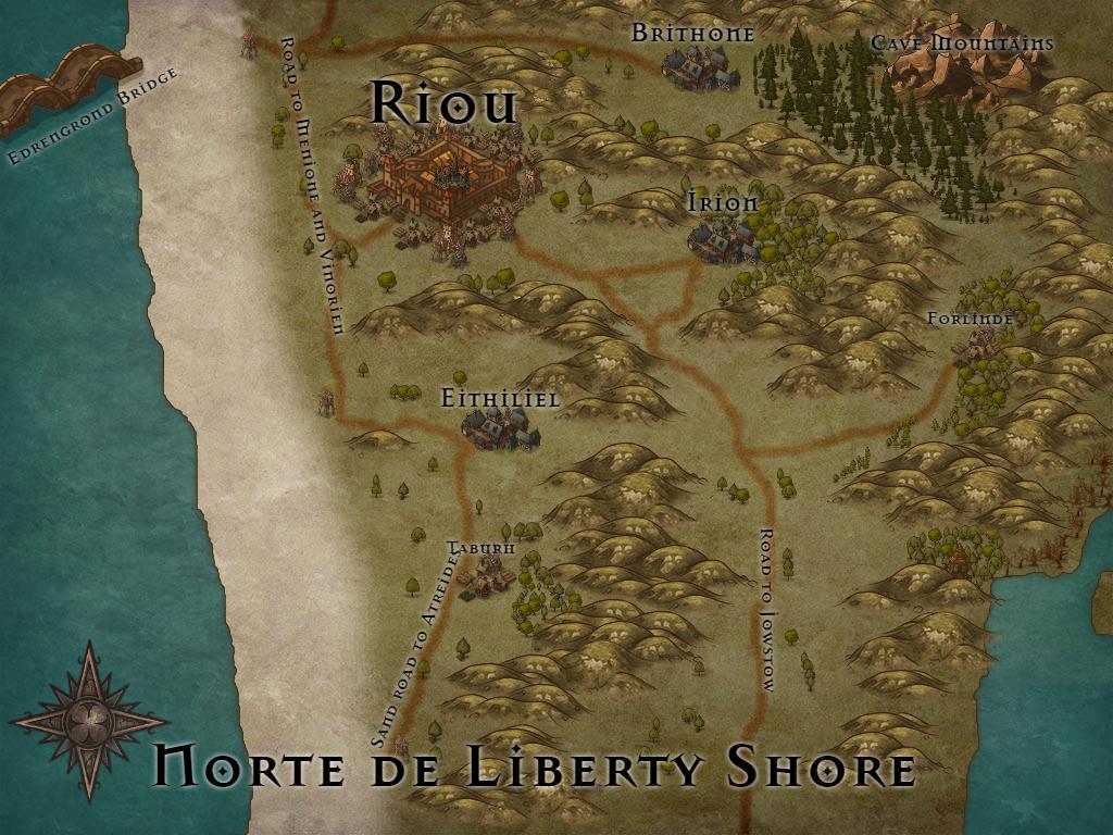 Mapas aproximados de cada região [!Cenários!] Norte_10