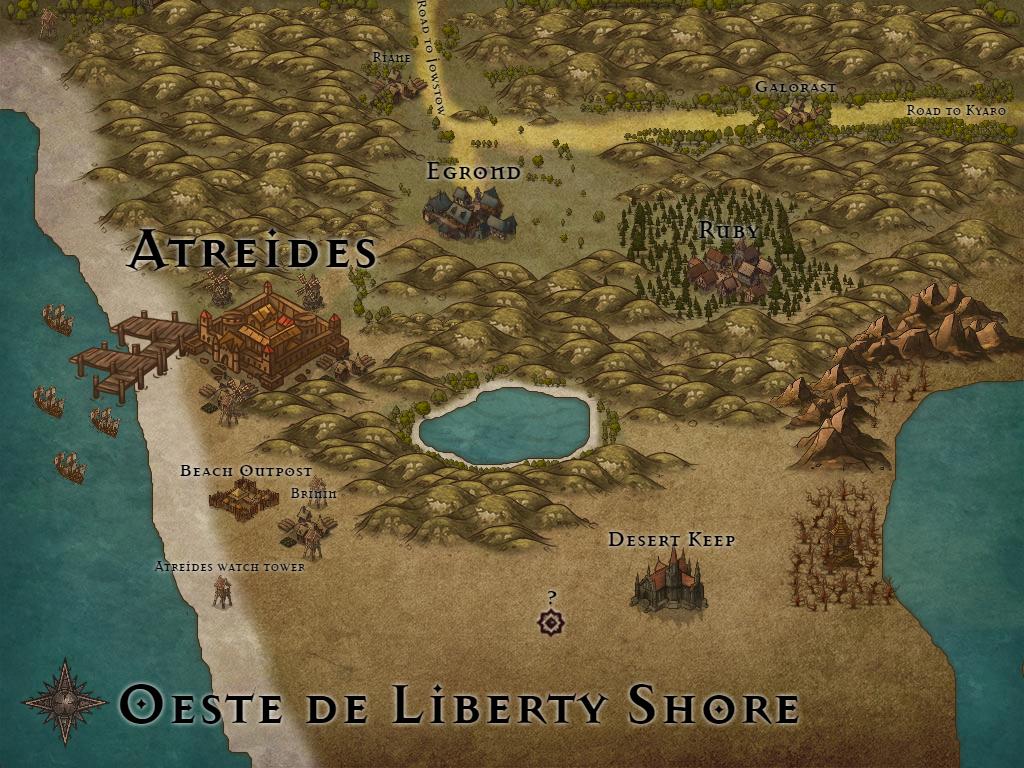 Mapas aproximados de cada região [!Cenários!] Oeste_10