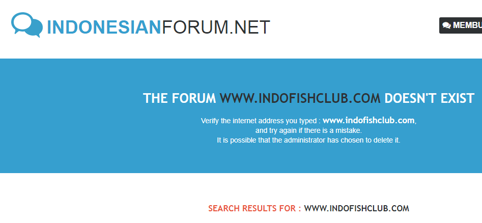 [ONLY TOPIC] my custom domain name refers to a page that says the forum does not exist ! Screen10