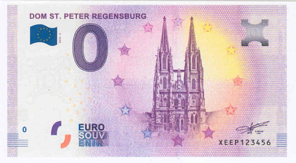[Collecte Expédiée] Allemagne DOM ST. PETER REGENSBURG XEEP2  Xeep210