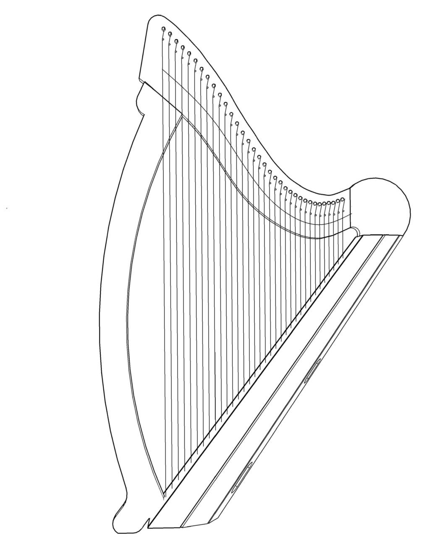 Construction d'une harpe celtique de 36 cordes - Page 2 Harpe_10