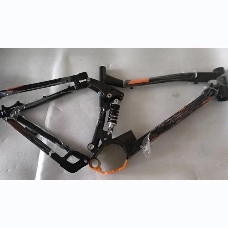 Cuadro doble suspensión Bafang BBS02 Cuadro10