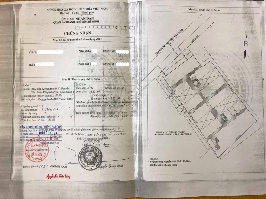 Bán gấp Căn hộ chung cư Quận 1 (giá cả thương lượng) 2_copy10
