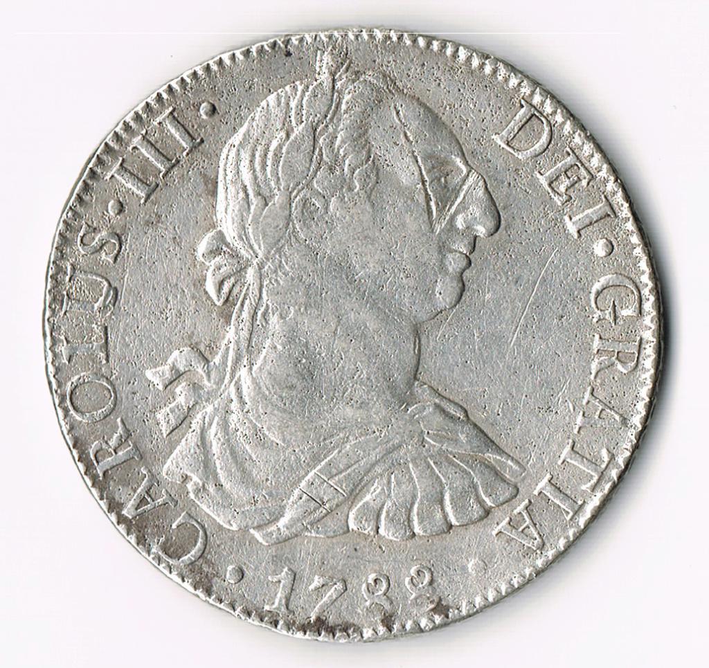 8 reales México 1788 Anvers10