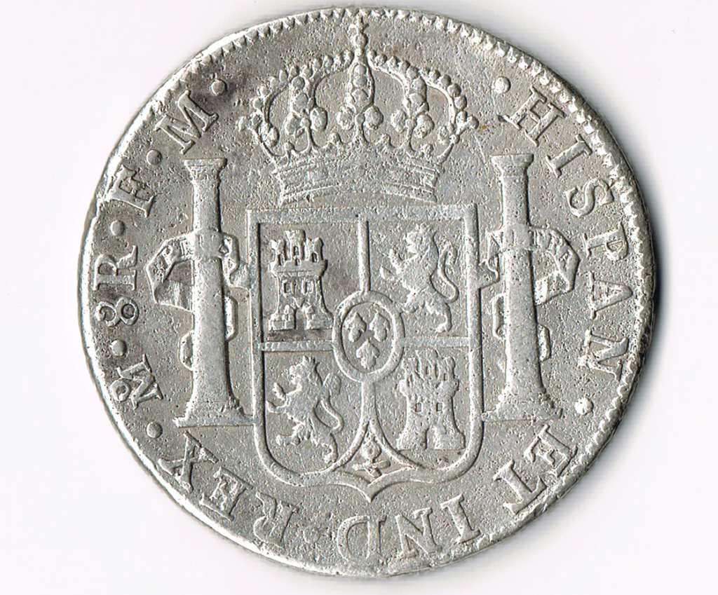 8 reales México 1788 Revers10