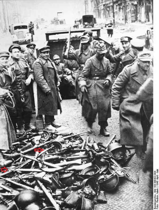 Dotation volkssturms armes pré 1890. Battle10