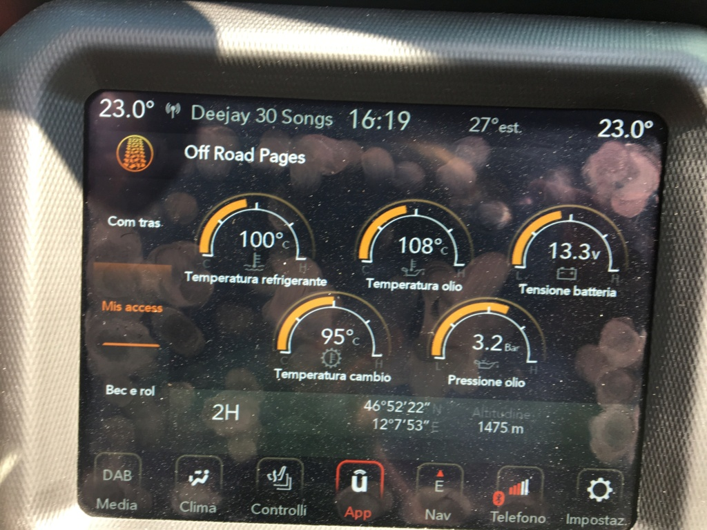 Indicatore temperatura refrigerante motore bloccato Bbc90610