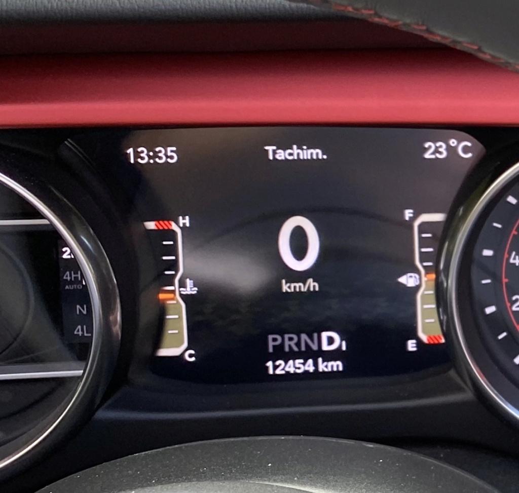 Indicatore temperatura refrigerante motore bloccato D5426c10