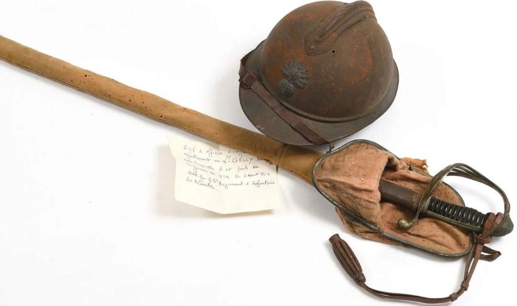 Qu'en pensez vous ADRIAN M15 d'infanterie et sabre d'Off M1882 complet 19120713