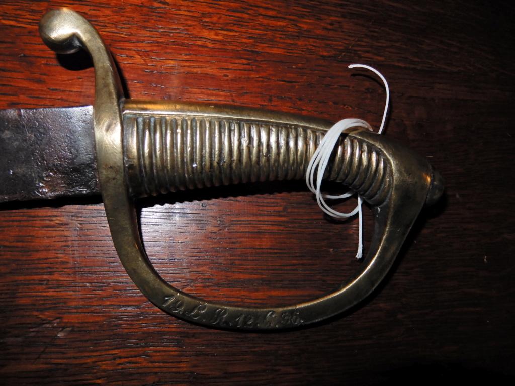 Identification marquage sur garde Briquet AN XI Dscn0214