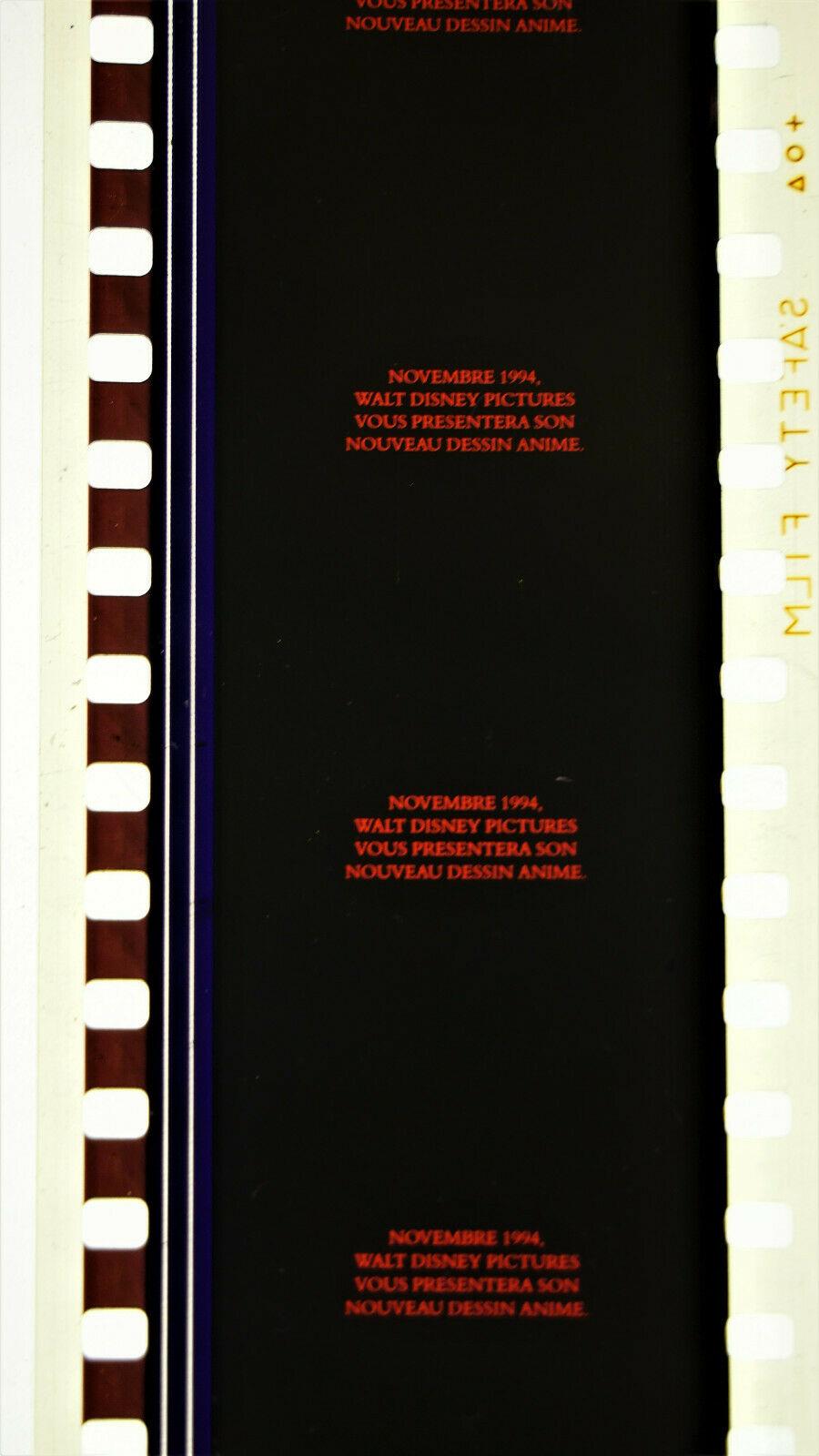 Films annonces en 35mm et PLV cinéma Rl310
