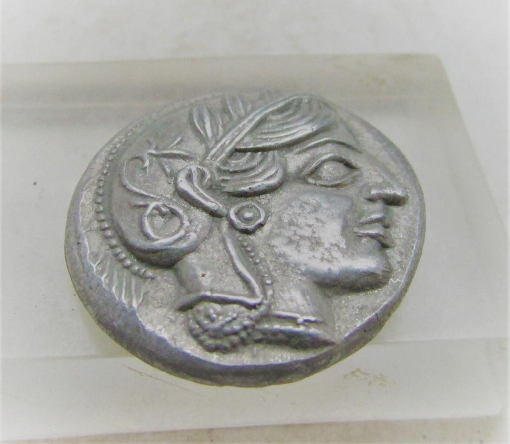 Tetradracma ateniense. Reproducción Anvers10