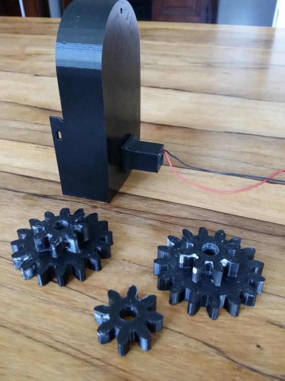 Grande roue électrifiée pour personnages Playmobil 2019-021