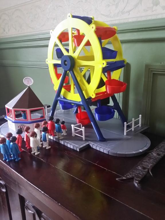Grande roue électrifiée pour personnages Playmobil 2019-036