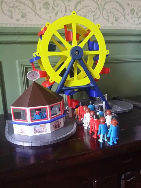 Grande roue électrifiée pour personnages Playmobil 2019-037