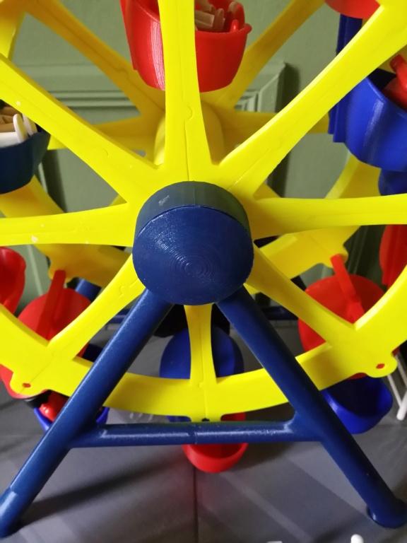 Grande roue électrifiée pour personnages Playmobil 2019-039