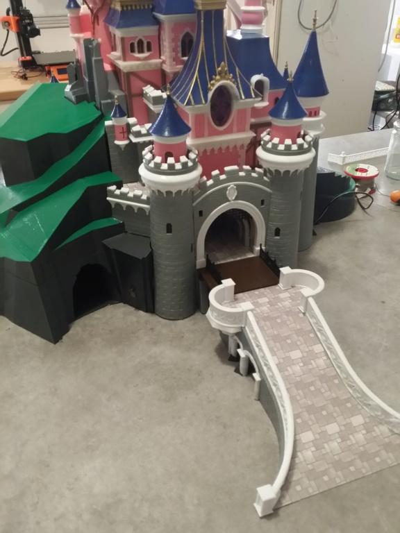 Maquette du château de la Belle au bois dormant de Disneyland Paris - Page 8 20190110