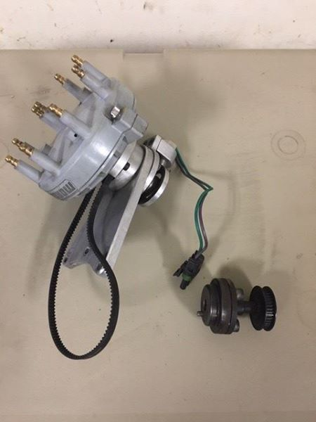 Jesel Belt Drive Distributor with bracket BKT-41820 Distri10