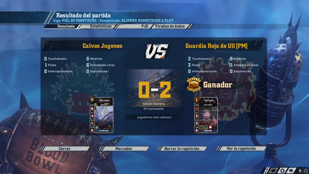 Liga Alianza Mixnotauro 5 - División Cuerno de Plata / Jornada 2 - hasta el domingo 12 de abril Captur25