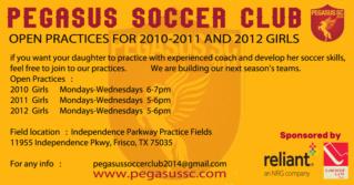 Open Practices /  Pegasus Soccer Club - Frisco Open_p14