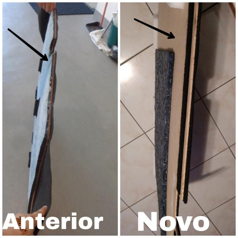 Reposição tampão estepe - peça com qualidade inferior  20190311
