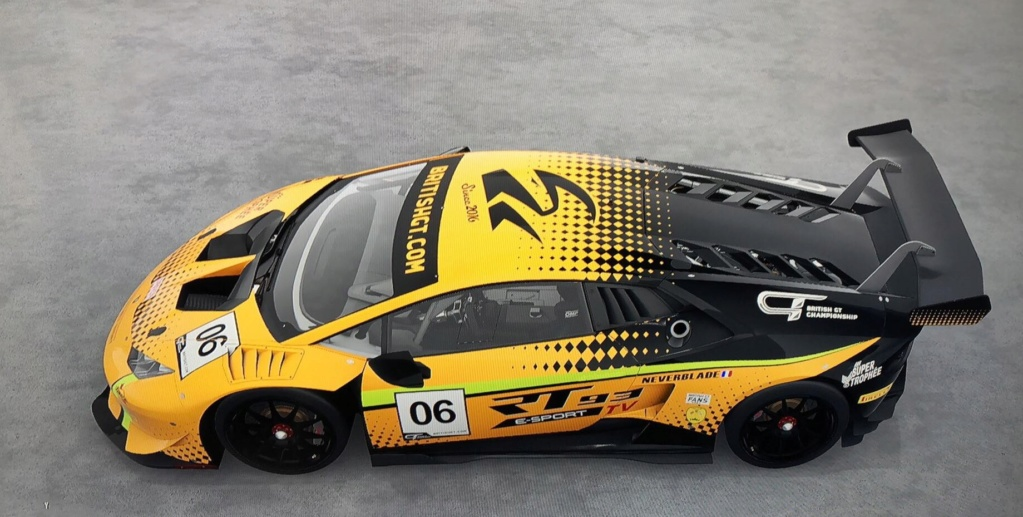 British GT eSports Championship 2019 - LIVERY REGULATIONS & GUIDE 55922011
