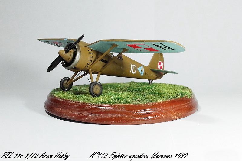 PZL 11c Arma Hobby 1/72 Pzl_1116