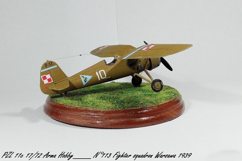 PZL 11c Arma Hobby 1/72 Pzl_1119