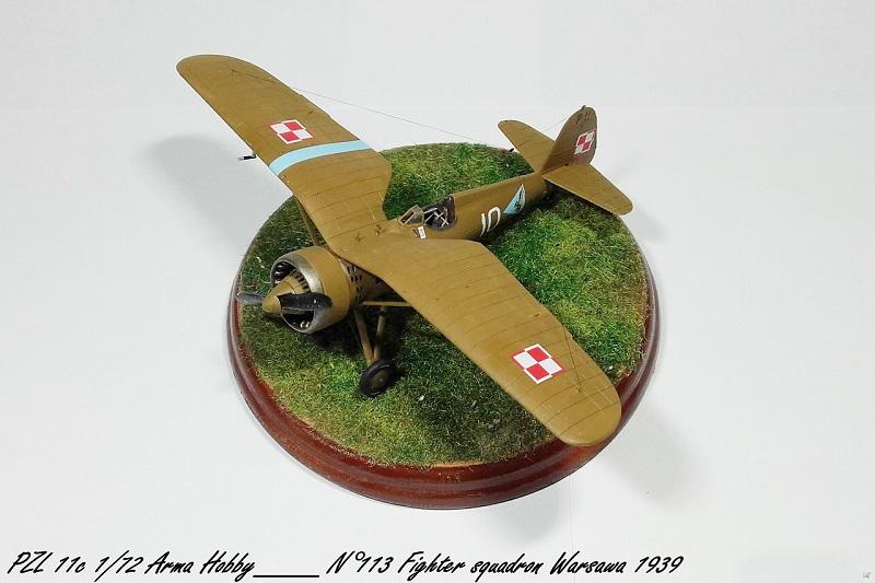 PZL 11c Arma Hobby 1/72 Pzl_1121