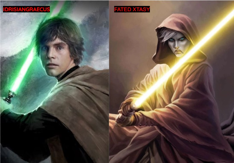 SS- The Canon Tournament- Asajj Ventress (Fated Xtasy) vs Luke Skywalker (IG)  696e9b10