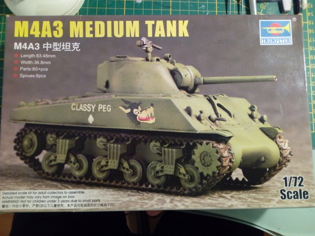 Sherman M4A3 1/72 Trumpeter Img_2134