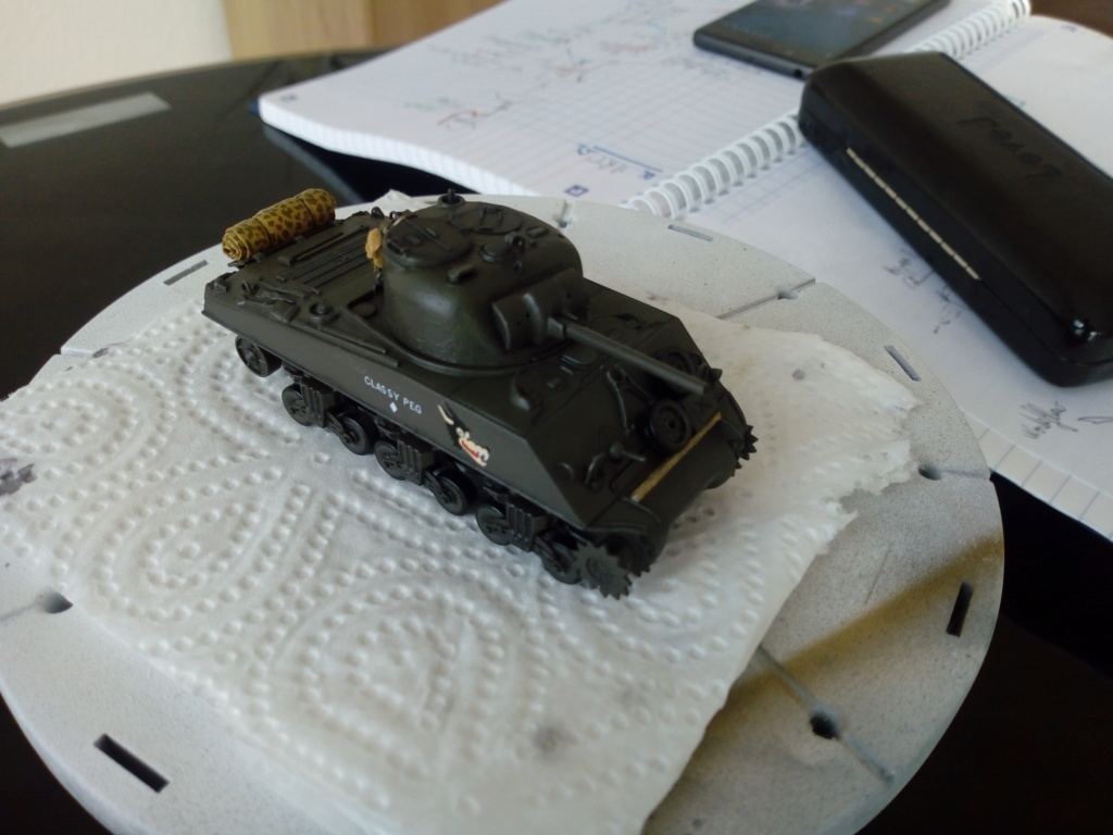Sherman M4A3 1/72 Trumpeter Img_2138