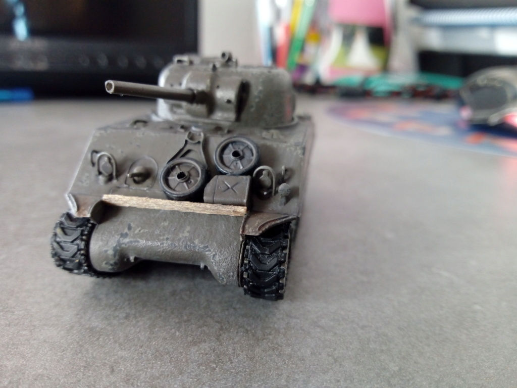 Sherman M4A3 1/72 Trumpeter Img_2145