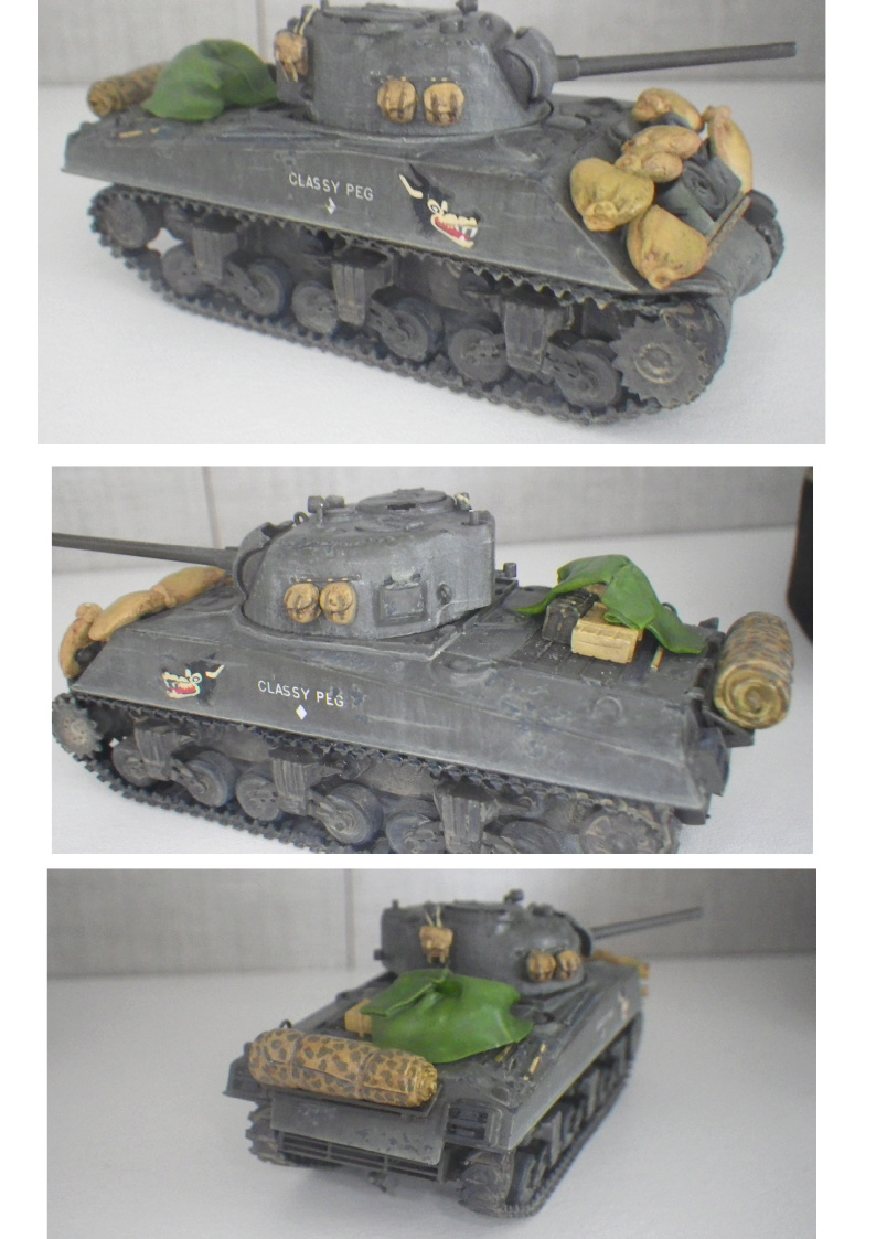 Sherman M4A3 1/72 Trumpeter Result10