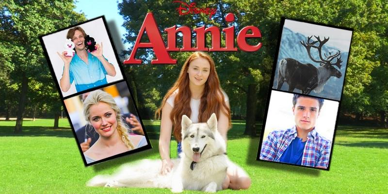 Anna D'Arendelle ❖ Sophie Turner Annie11