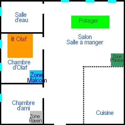 Appartement d'Olaf / Centre ville Appart11