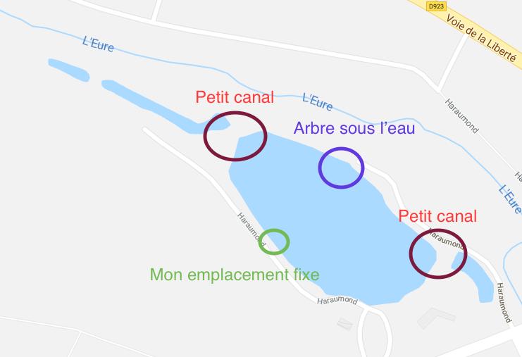 Aborder un étang plat Captur11
