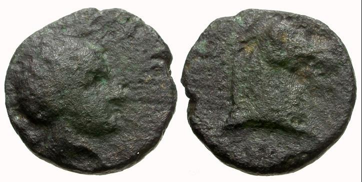 Hexa de Tyndaris (Sicilia). Apolo y prótomo de caballo. Xxxxxx10