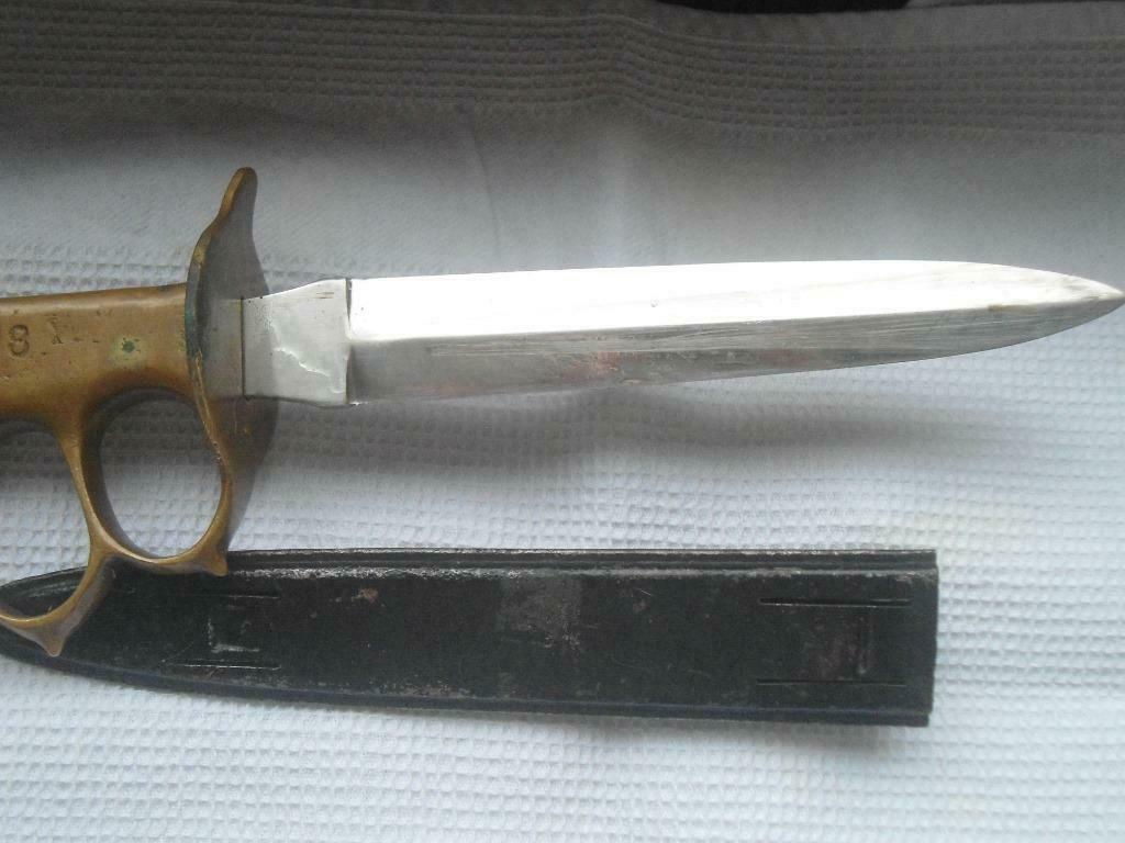 fourreau trench knife 18 + reproduction _8618
