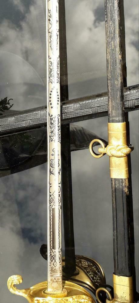 epee officier US et 2 sabres briquets a estimer/authentifier  _86_312