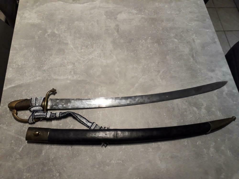 epee officier US et 2 sabres briquets a estimer/authentifier  _86_513