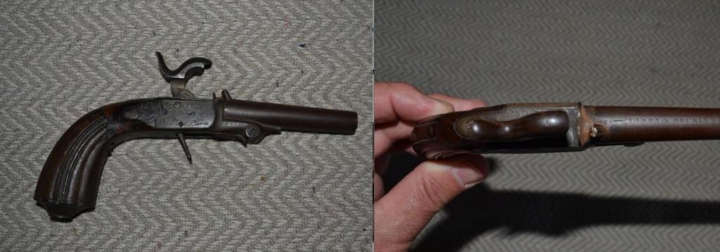 pistolet de coffre a percussion basculant Jfgj10