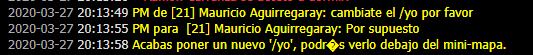 "[Reporte] Mauricio ""moderador"". Screen23"