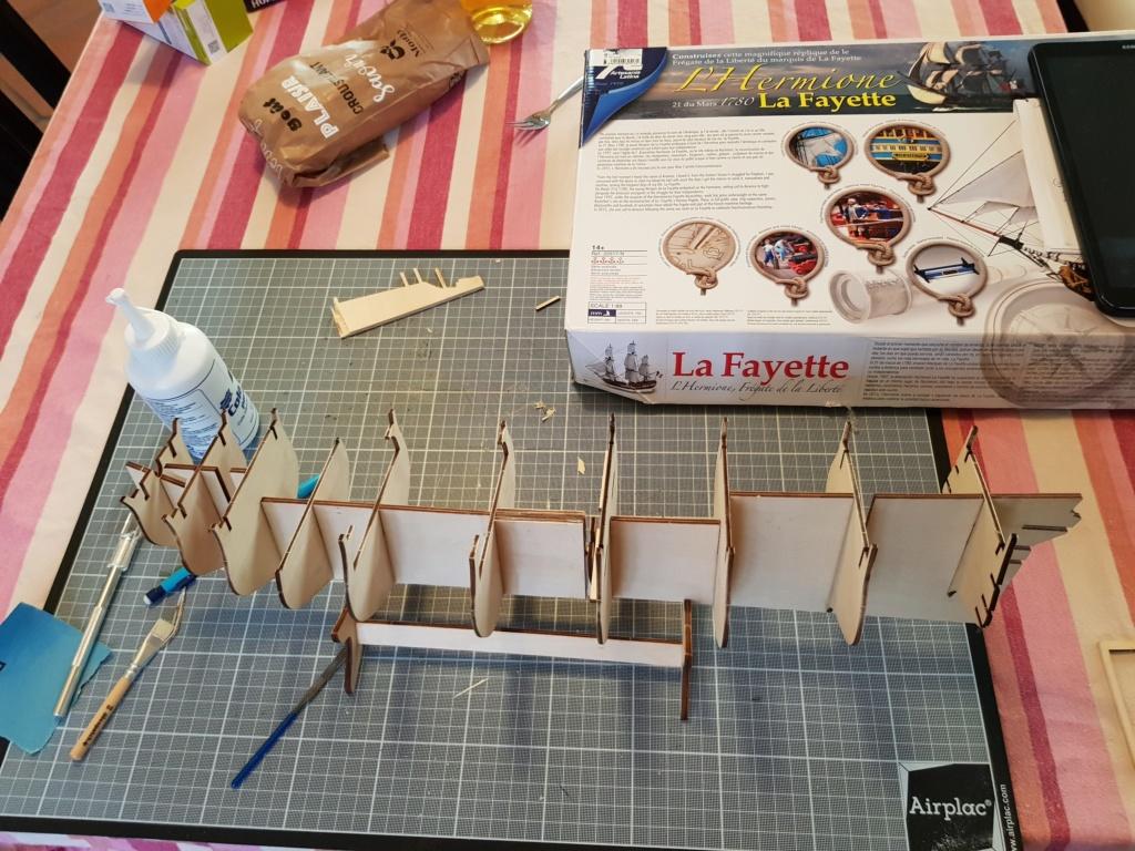 construction de l'hermione de chez Artesania  20191011