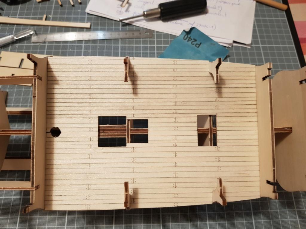 construction de l'hermione de chez Artesania  20191012