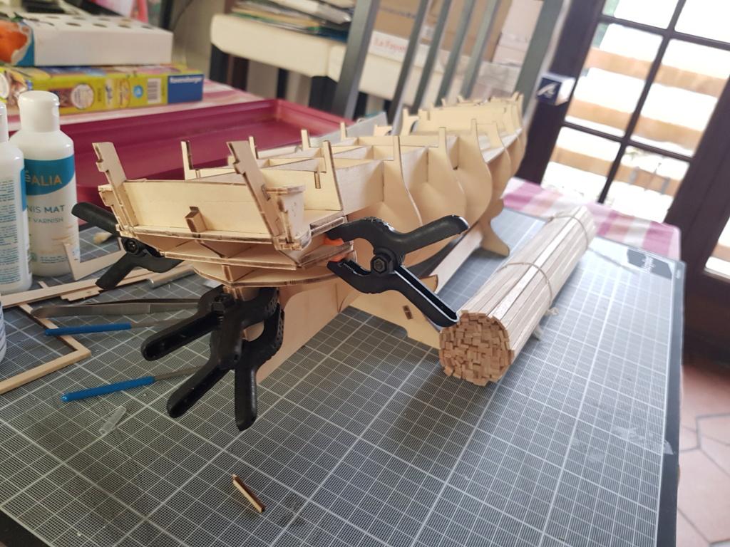 construction de l'hermione de chez Artesania  20191015